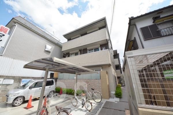 茨木市舟木町の賃貸物件外観写真