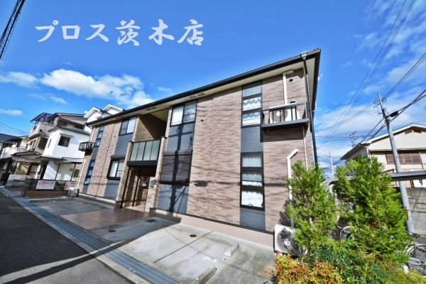 茨木市竹橋町の賃貸物件外観写真